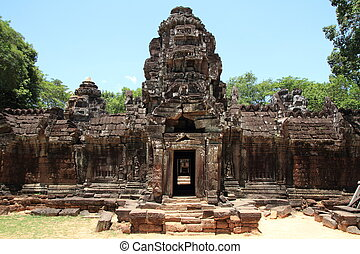 Ta Som in Angkor