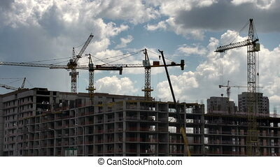 Building Apartment Buildings - Construction of multi-storey...