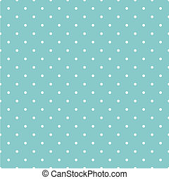 Tile vector mint dots pattern - Tile vector pattern with...
