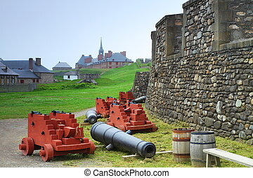 Old-fashioned fortifications