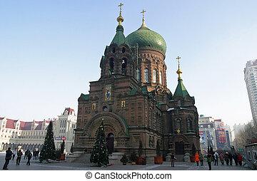 St. Sophia Cathedral in Harbin