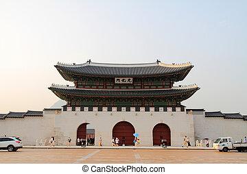 Gwanghwamun in Seoul, Korea