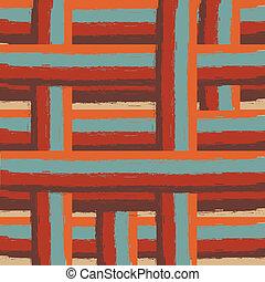 seamless retro colored lines