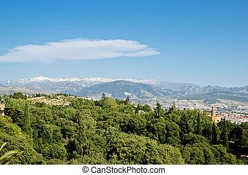 Sierra nevada - Sierra Nevada in Granada, Spain