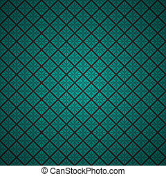 Vector abstract pattern - Turquoise clean vector vintage...