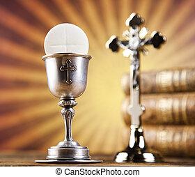 eucharistie, sacrement, Communion