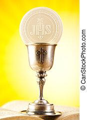 eucaristía, sacramento, comunión