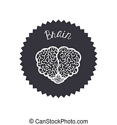 Idea design over white background, vector illustration