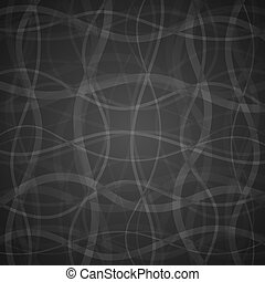 Vector abstract background - Gray clean vector floral...