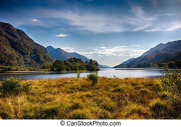 Highlands around Loch Shiel HDR - View from Glenfinnan...