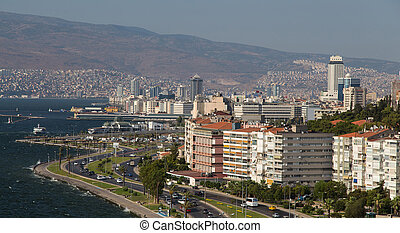 Izmir City in Aegean Coast of Turkey