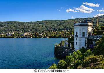 Isolabella Island Maggiore Lake - Isola Bella is located in...