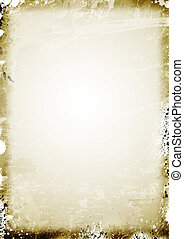 Old parchment paper background - Texture Series - Old aged...