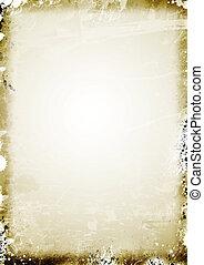 antigas, Pergaminho, papel, fundo