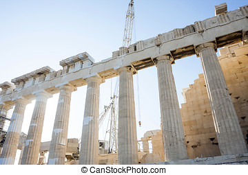 Reconstruction and conservation of Parthenon -...