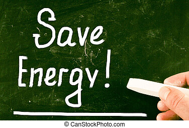 save energy concept