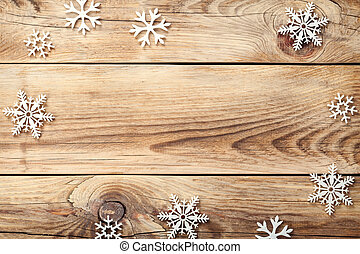 Christmas Background - Christmas background with snowflakes...