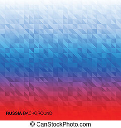 Abstract Background using Russia flag colors, vector...