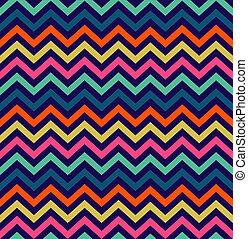 Colorful zigzag seamless pattern - Colorful zigzag simpple...