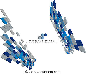 3d checked background3d checked background - Abstract 3d...