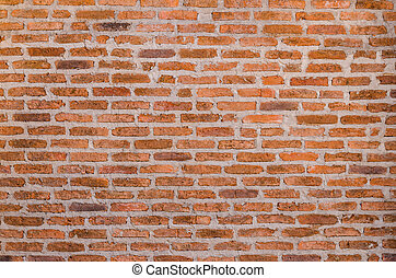 decorative red brick wall texture - background of decorative...
