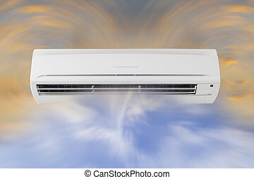 air conditioner - Air circulation of air conditioner machine...