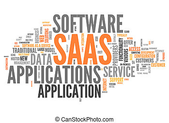 Word Cloud Software As A Service - Word Cloud with Software...
