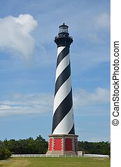 Cape Hatteras Lighthouse - The historic Cape Hatteras...