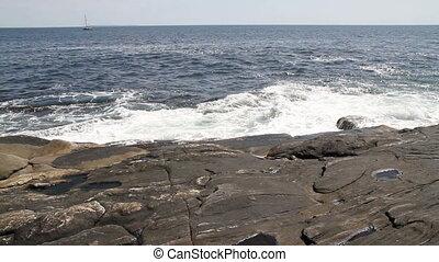 Rocky Shore Maine USA Four - Rocky Coastline Maine USA