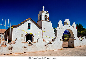 Church of San Pedro de Atacama, Chile