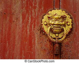 chinese knocker in jinan shandong province