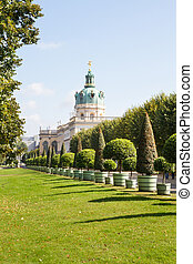 Charlottenburg Palace, Berlin, Germany - The Carlottenburg...