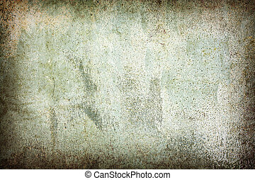 abstract grunge green wall background