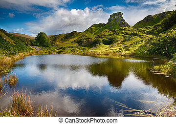 Romantic Fairy Glen HDR - Mystic Fairy Glen, a romantic...