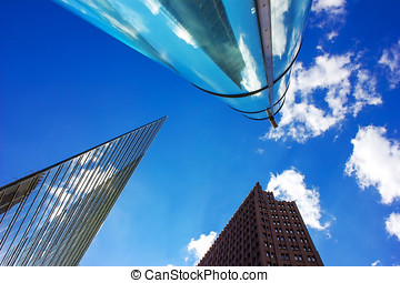 Business Buildings - Modern Business Buildings in Berlin,...