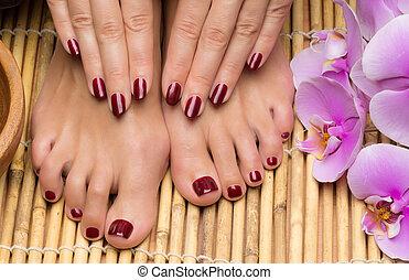 salão,  manicure,  pedicure