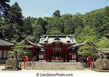 Hakone shrine in Hakone, Japan