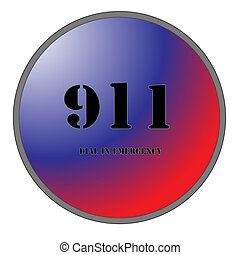 911 for Emergencies - A Big 911 Button for Emergencies...