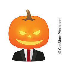 Avatars in halloween costumes - Illustration of isolated...