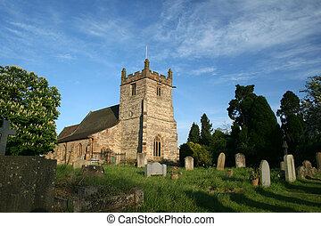 Feckenham Church - The church of St. John the Baptist in...