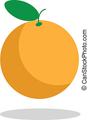 orange fruit color background juicy healthy