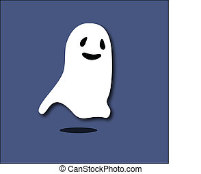 ghost cartoon background symbol scary