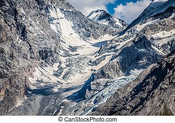 Trentino Alto Adige, Italian Alps - The Ortles glacier