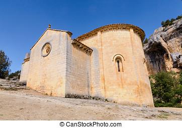 Romanesque hermitage of st Bartholomew - San Bartolome...