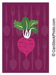 beetroot - Vector of beetroot