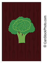 broccoli - Vector of broccoli