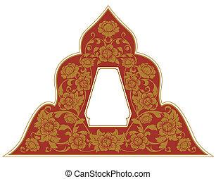 Thai Ornament Frame