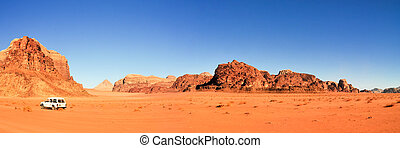 Wadi Rum Desert, Jordan - Wadi Rum also known as The Valley...