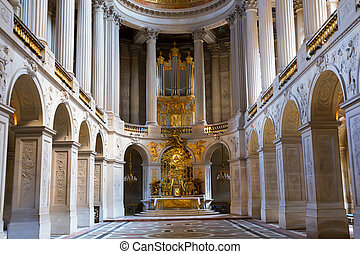 Palace of Versailles - Luxurious interior of Palace of...