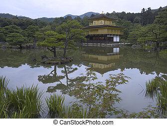 Kyoto Golden Pavilion Temple